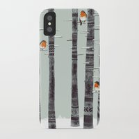 iggy pop iPhone & iPod Cases featuring Robin Trees by Sandra Dieckmann