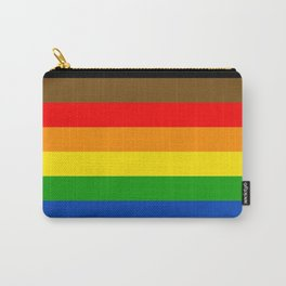 LGBTQ Pride Flag (More Colors More Pride) Carry-All Pouch