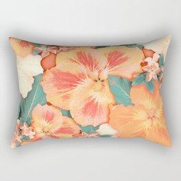 Aloha Orange Sherbet Rectangular Pillow