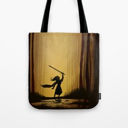 Victory over the darkness Tote Bag