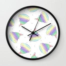 Glamorous Poop Wall Clock