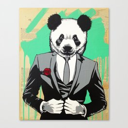 Swag Panda Canvas Print