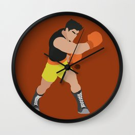 LITTLE MAC(SMASH)ORANGE Wall Clock