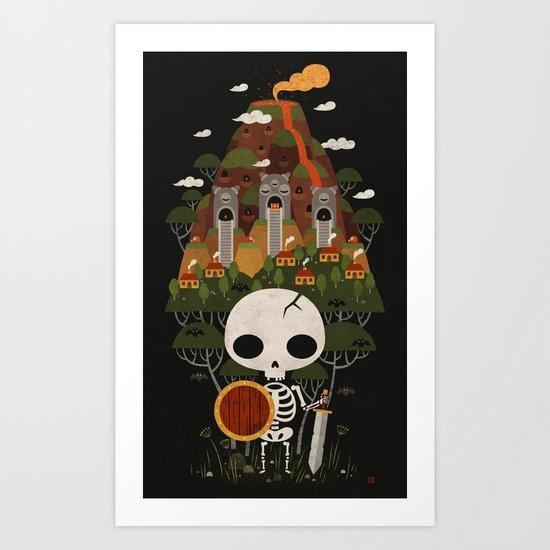 STALFOS SATORI Art Print