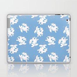 Honeysuckle Bouquet in Carolina Blue Laptop & iPad Skin