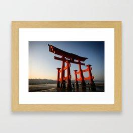 Itsukushima Shrine Framed Art Print