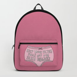 Paws Off Backpack