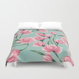 floral pattern 2 Duvet Cover