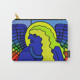 GALGALIEL the blue angel of vibrations Carry-All Pouch