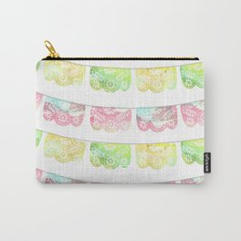 Pastel Watercolor Papel Picado Carry-All Pouch