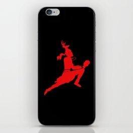 Logtipo de la danza del Venado iPhone Skin