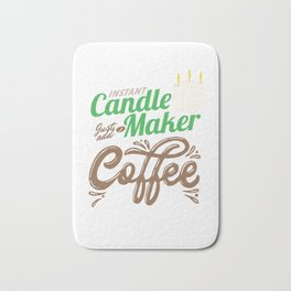 Chandler  Candlelight Candlemaking Wax Instant Candle Maker Just Add Coffee Gift Bath Mat