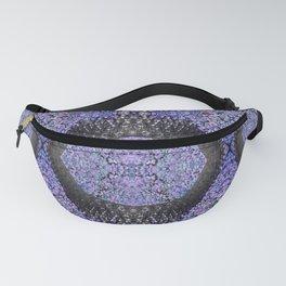 Snake Skin-violet Fanny Pack