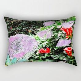 Flower Palette Rectangular Pillow