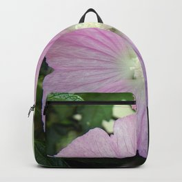 Pink Musk Mallow Backpack