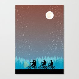 Searching for Will B. - 80s things Canvas Print