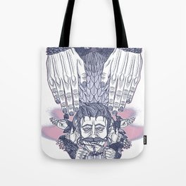Flap Your Hands Tote Bag
