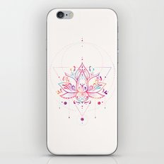 Lotus Prism iPhone Skin