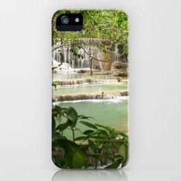 Zen Waterfalls Harmony #2 iPhone Case