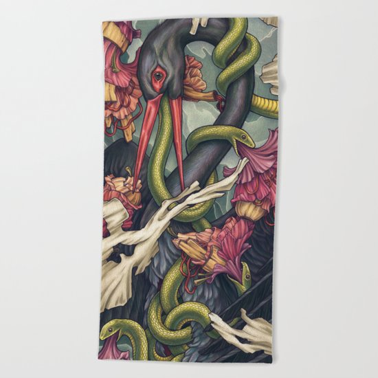 Harbinger Beach Towel