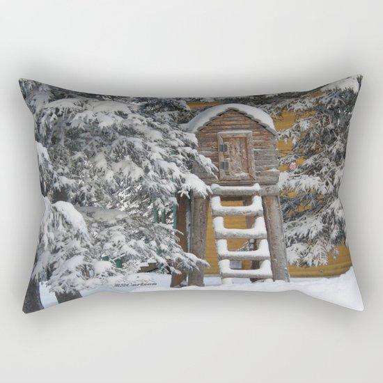 Keeping Things Way Cool Rectangular Pillow