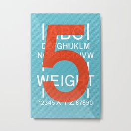 Apt 5 Metal Print