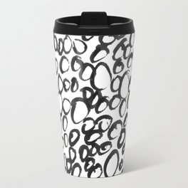 Woman Lost in the Dark Travel Mug