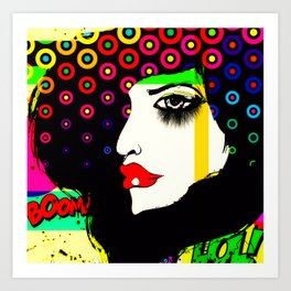 Pop art 04 Art Print