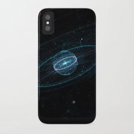 Space & Particles - GodEye 01 iPhone Case
