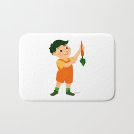Carrot Bath Mat