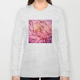 PINK THISTLE BLOOM Long Sleeve T-shirt