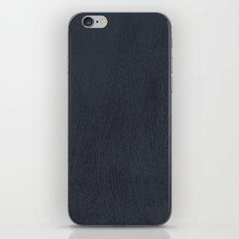 Textured Navy iPhone Skin