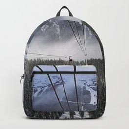 Peak2Peak gondola route Backpack