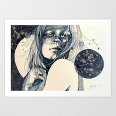 After the fall Art Print