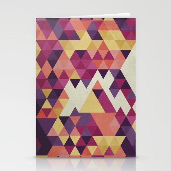 Geometri III Stationery Cards