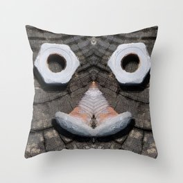 Nuts & Bolts Throw Pillow