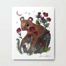 Baby Bear Metal Print