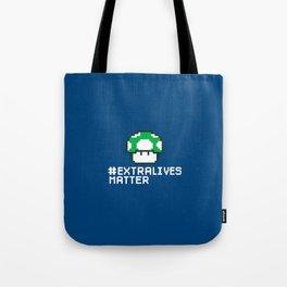#Extra Lives Matter Tote Bag