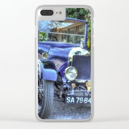 Morris Cowley Clear iPhone Case