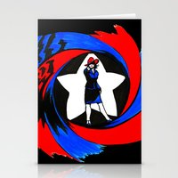agent carter Stationery Cards featuring Carter. Agent Carter. by Lydia Joy Palmer