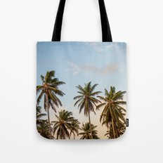 Sky beach palmier Tote Bag