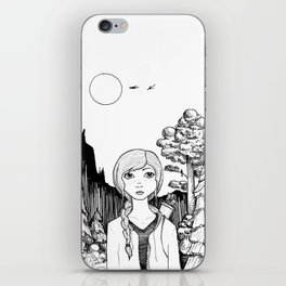 Katniss's Silver Lining iPhone Skin