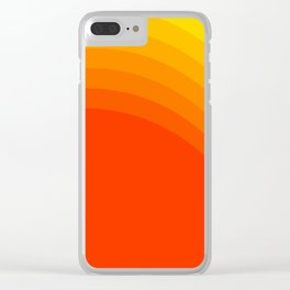 Sunshine Clear iPhone Case
