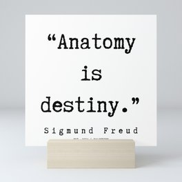 49  |   Sigmund Freud Quotes | 190926 Mini Art Print