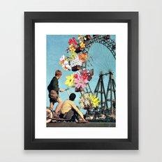 Bloomed Joyride Framed Art Print