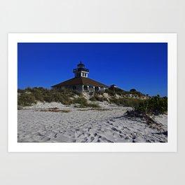 Boca Grande Lighthouse III Art Print