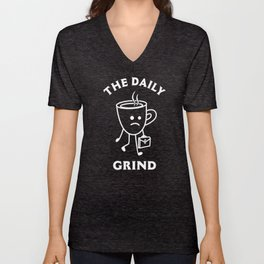 The Daily Grind Unisex V-Neck