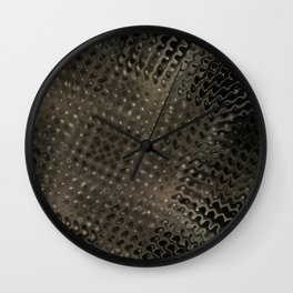 Grid Number One Wall Clock