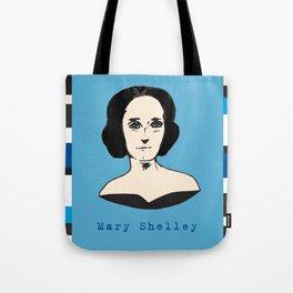 Mary Shelley, hand-drawn portrait Tote Bag