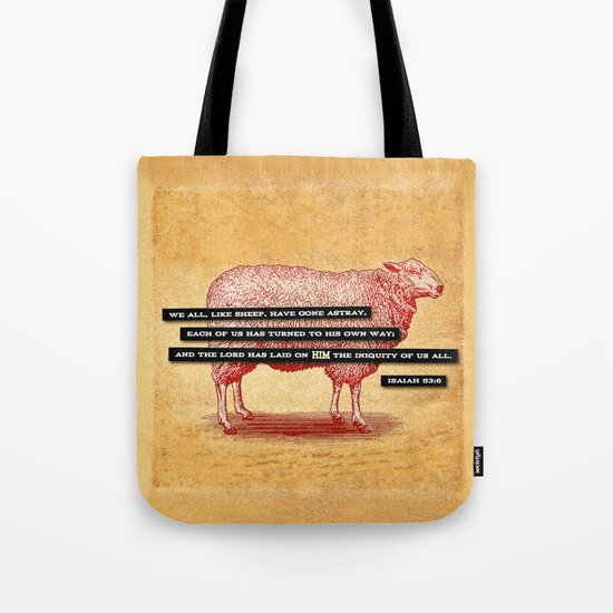 Like Sheep Tote Bag